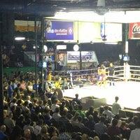Photo taken at Lumpinee Boxing Stadium by เจนวิทย์ ศ. on 2/26/2013