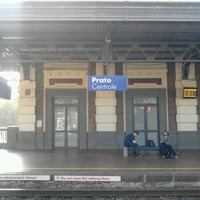 Photo taken at Stazione Prato Centrale by Jimboy R. on 10/20/2012