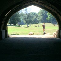 Photo taken at Endale Arch - Prospect Park by Max S. on 9/6/2015