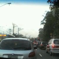 Photo taken at Avenida Guarapiranga by Isabel C. on 9/14/2012