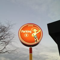 Photo taken at Toy Story Parking Lot by Lena A. on 1/27/2013