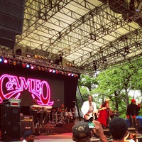 Photo taken at Central Park SummerStage by MrIzReal on 7/3/2013