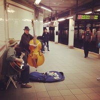 Photo taken at MTA Subway - 103rd St (1) by Carlos G. on 5/24/2013