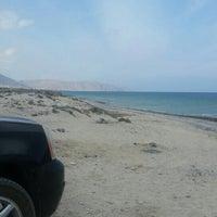 Photo taken at AsSeifa Beach by Miranda R. on 12/7/2015