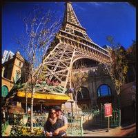 Photo taken at Paris Hotel & Casino by Rodrigo Erse M. on 1/23/2013