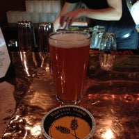 Photo taken at Harvest Moon Brewery by Tom N. on 5/8/2013