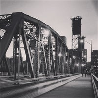 Photo taken at Hawthorne Bridge by Joryuu on 5/20/2013