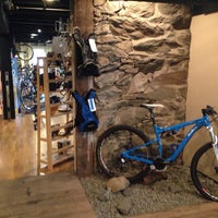 Photo taken at Trail's End Cycling Company by Dion H. on 5/29/2014