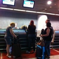 Photo taken at Check-in TAM by Jaqueline G. on 5/14/2013