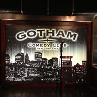 Photo taken at Gotham Comedy Club by sarkis on 11/15/2012