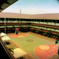 Photo taken at SMAN 26 Jakarta by Amelya L. on 7/17/2013