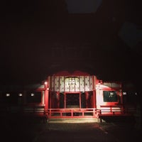 Photo taken at 春日神社 by Rie O. on 6/6/2014