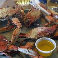 Photo taken at May's Crab & Seafood by Jacob K. on 3/10/2013