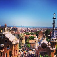 Photo taken at Park Güell by Александр О. on 8/26/2013