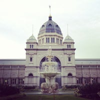 Photo taken at Royal Exhibition Building by Stephen J. on 7/13/2013