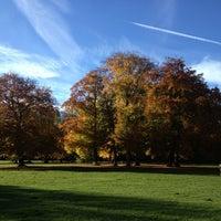Photo taken at Englischer Garten by Matthias B. on 11/1/2012