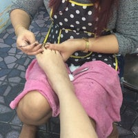 Photo taken at Monet Beauty Parlor by Thisisice on 10/1/2014
