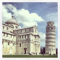 Photo taken at Tower of Pisa by Fabian L. on 4/6/2013