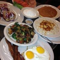 Photo taken at Juicy-O Pancake House by Jim G. on 2/10/2013