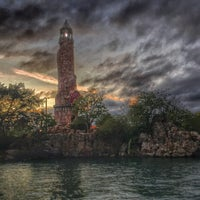 Photo taken at Islands Of Adventure Lighthouse by Paige on 1/13/2015