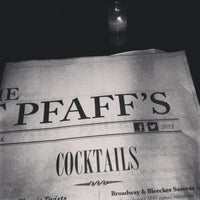 Photo taken at The Vault at Pfaff's by Vonatron L. on 2/15/2013