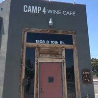 Photo taken at Camp 4 Wine Café by K on 7/28/2016