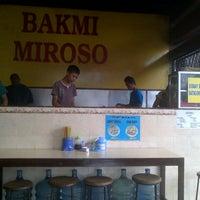 Photo taken at Bakmi Miroso by Andre H. on 8/7/2013