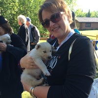 Photo taken at Iditarod Race Headquarters by Lisa H. on 6/13/2015