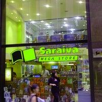 Photo taken at Saraiva MegaStore by Marcvin C. on 4/25/2013