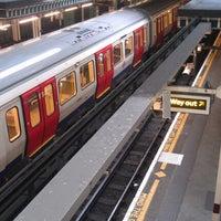 Photo taken at Aldgate London Underground Station by Matt C. on 10/23/2012