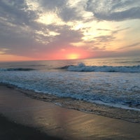 Photo taken at Long Branch Beach by Alvin Q. on 5/16/2013