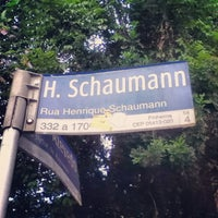 Photo taken at Rua Henrique Schaumann by Heitor B. on 2/22/2013