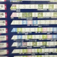 Photo taken at Yurakucho Line Shin-kiba Station (Y24) by Norikazu N. on 11/7/2012