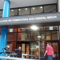 Photo taken at DePaul University - College of Computing and Digital Media by Jamie G. on 11/20/2012