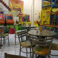 Photo taken at Buffet Cata-vento Kid by Felipe Z. on 8/3/2013