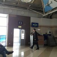 Photo taken at Terminal F (KBP) by Ivan B. on 3/11/2013