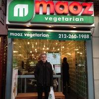 Photo taken at Maoz Vegetarian by Karen H. on 12/3/2012
