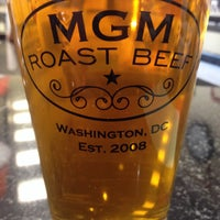 Photo taken at MGM Roast Beef by Rob C. on 4/4/2015