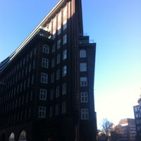 Photo taken at Chilehaus by New Hamburg Tours on 11/30/2012