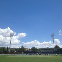 Photo taken at StarTrack Oval by Peter T. on 2/6/2013