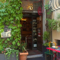 Photo taken at Osteria Del Matto by Luca Z. on 7/6/2014