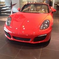Photo taken at Reeves Porsche by Arturo M. on 3/4/2014