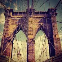 Photo taken at Brooklyn Bridge by Darius A. on 7/16/2013