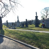 Photo taken at New Calvary Cemetery by Vin G. on 12/27/2014