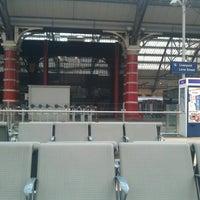 Photo taken at Platform 7 by Alisa S. on 10/1/2012
