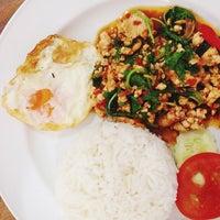 Photo taken at ร้านรสเทพ by Miw B. on 2/4/2014