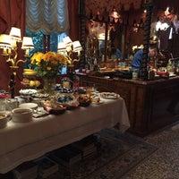Photo taken at Hotel Al Ponte Antico by Matthew B. on 11/9/2015