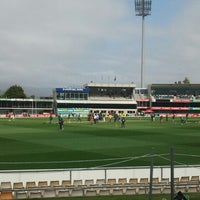 Photo taken at Blundstone Arena by Ben W. on 12/13/2012