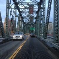 Photo taken at Hawthorne Bridge by Chris M. on 11/20/2012