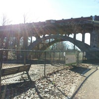 Photo taken at Piedmont Park Dog Park by Juli K. on 1/19/2013